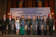 Embassy marks 42nd National Day of Laos, Vietnam-Laos ties