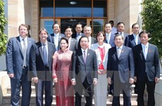 NA Chairwoman seeks stronger education, sci-tech ties with Australia