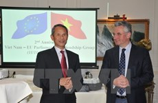 Vietnam – EU parliamentary friendship marks in Belgium