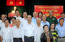 HCM City voters hail success of National Assembly's 4th session