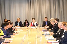 Top lawmaker: Vietnam opens door for Australian firms