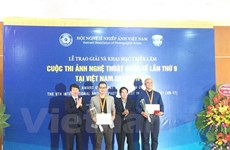 Awards of 9th Int'l Artistic Photo Contest in Vietnam presented