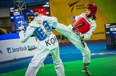 Tuyen wins bronze at Grand Prix taekwondo tourney