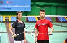 Silver for Vietnam at Singapore badminton