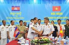 Vietnam, Cambodia review joint patrols at sea