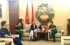 New Zealand provides English training courses for Vietnamese soldiers