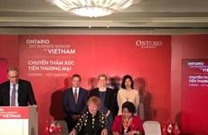 Ontario delegation ink six agreements in Vietnam visit