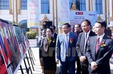 Photo exhibition on Vietnam-Laos relations opens in Vientiane