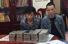 Hanoi police arrest transporters with over 16.3 kg of heroin