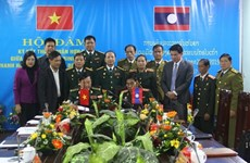 War veterans of Vietnamese, Lao provinces intensify cooperation