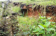 Erosion risk in central Quang Tri province