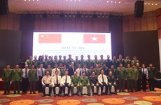 Vietnam, China review border drug crime crackdown campaign
