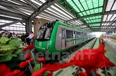 Test run of Cat Linh-Ha Dong railway delayed until next September