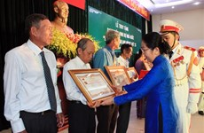 "HCM City honours 18 ""Heroic Mothers"""