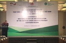 Conference confers private investment in implementation of green growth
