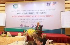 Australia renews commitment to support  Vietnam's economic reform