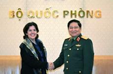 Defence Minister receives Cuban Ambassador