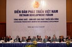 Vietnam Development Forum seeks to increase productivity