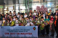 Hanoi students bag medals at international competitions