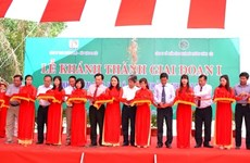 Binh Thuan's first waste treatment complex put into operation