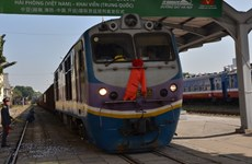 Freight rail service linking Hai Phong with China's Kaiyuan launched
