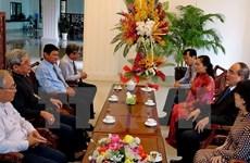 HCM City's leaders visit Catholics ahead of Christmas