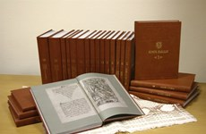 Books of Belarusian printer presented to VN library