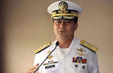 Philippines announces reason for navy chief removal