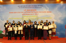 NGOs honoured for contributions to Vietnam's poverty reduction