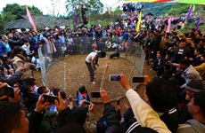 Tet arrives early for northern Mong ethnic village