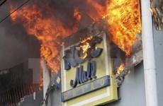 """Zero"" chance of survive in Philippines' Davao city blaze"
