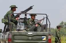 Myanmar extends curfew in northern Rakhine