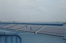 Vietnam's largest rooftop solar power system put into operation