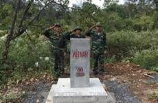 Dak Nong fulfils border marker planting task in 2017