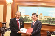 Outgoing Indonesian Consul General bids farewell to HCM City
