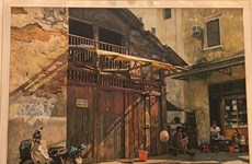 Realist artists depict Hanoi's life