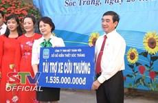 Needy people in Hau Giang, Soc Trang receive assistance