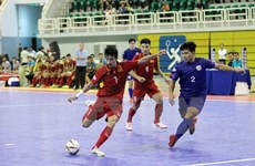 VN strive to be present at Futsal World Cup final round