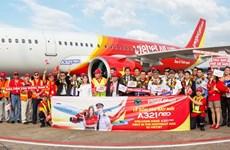 VietJet receives first A321neo aircraft
