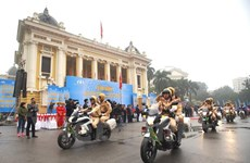 Year of Traffic Safety 2018 launched in Hanoi, Ho Chi Minh City
