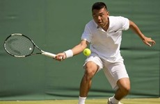 Ly Hoang Nam still among world's top 500 tennis players