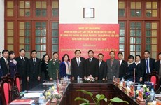 Vietnamese, Lao people's courts work to step up cooperation