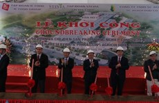 Son La: work starts on agriculture processing plant