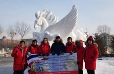 Thai college takes top honour at int'l snow sculpture contest