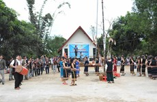 Sedang people celebrate New Rice Festival