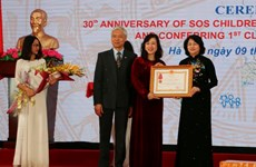 SOS Children's Villages Vietnam receives first-class Labour Order