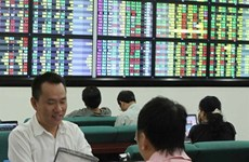 VN shares up on good financial results