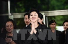 Former Thai PM Yingluck confirmed to be in London