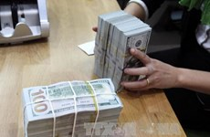 Reference exchange rate goes up 15 VND