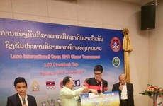 IM Minh grabs silver at Lao chess tourney